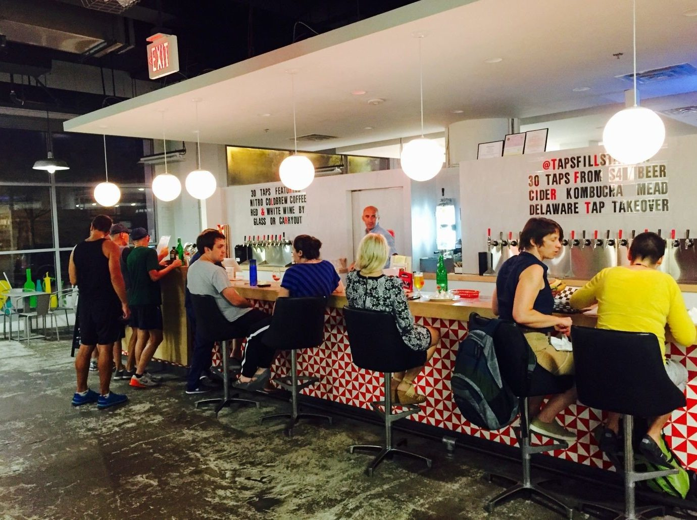 Food + Drink person indoor ceiling people group food court recreation product restaurant leisure fun several