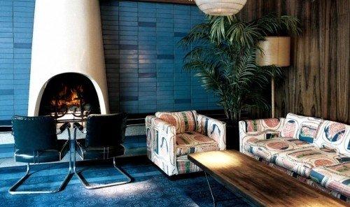 Hotels room indoor Living living room home interior design Design furniture restaurant leather