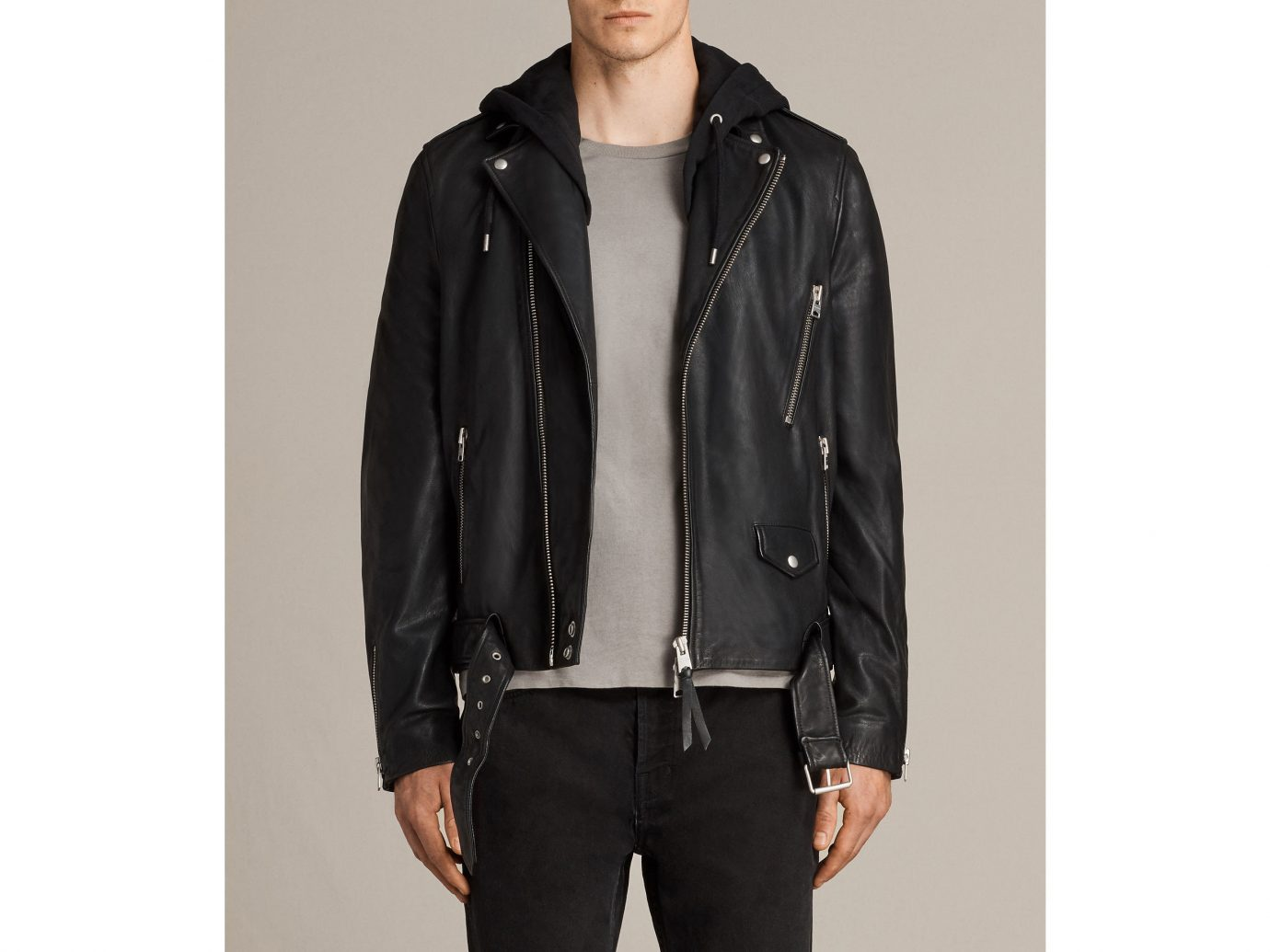 Packing Tips Style + Design Travel Shop person clothing wall posing jacket man standing wearing indoor leather jacket leather suit hood sleeve dressed coat trouser