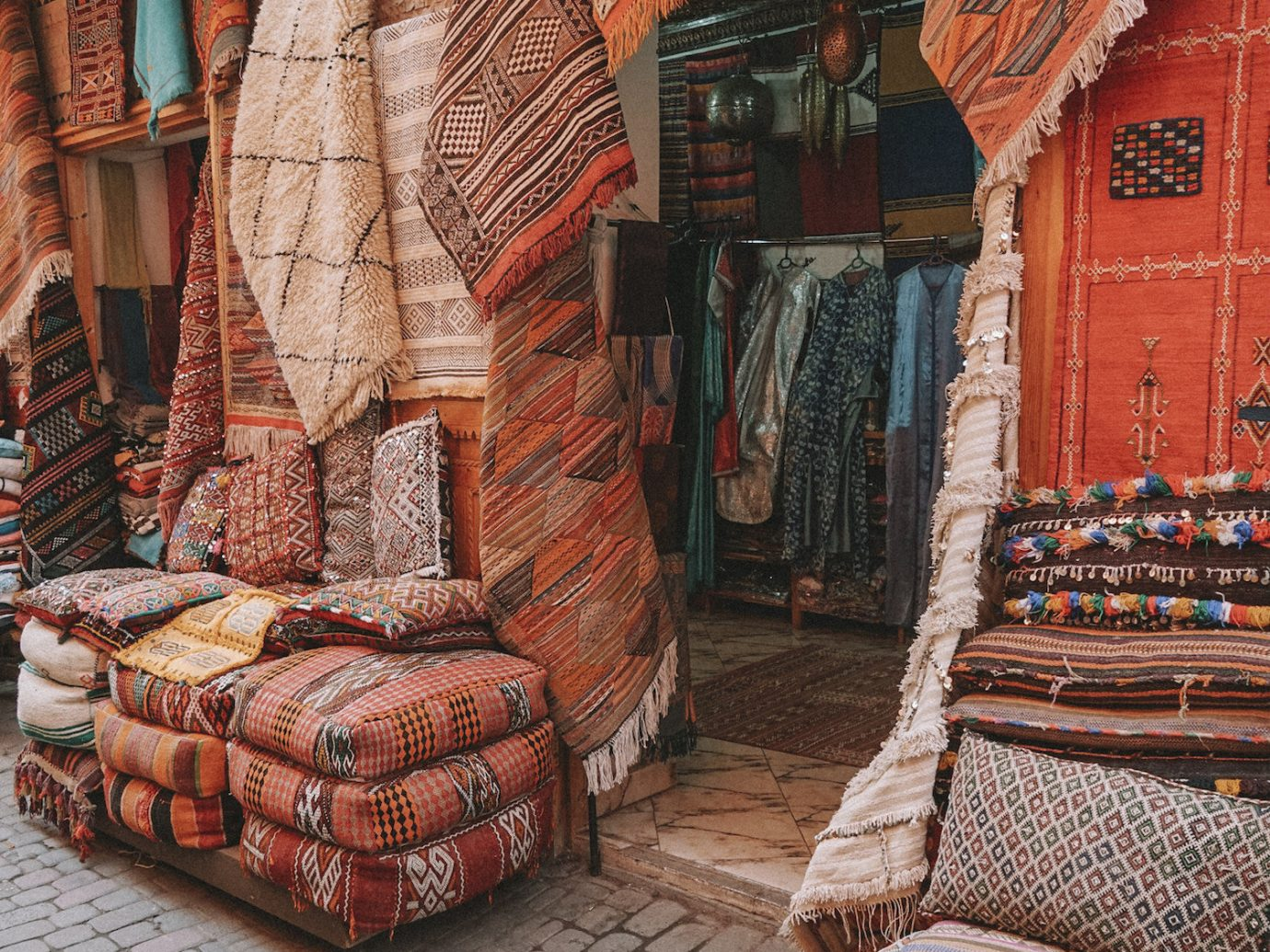 Arts + Culture Marrakech Morocco Style + Design wall flooring wood carpet brick
