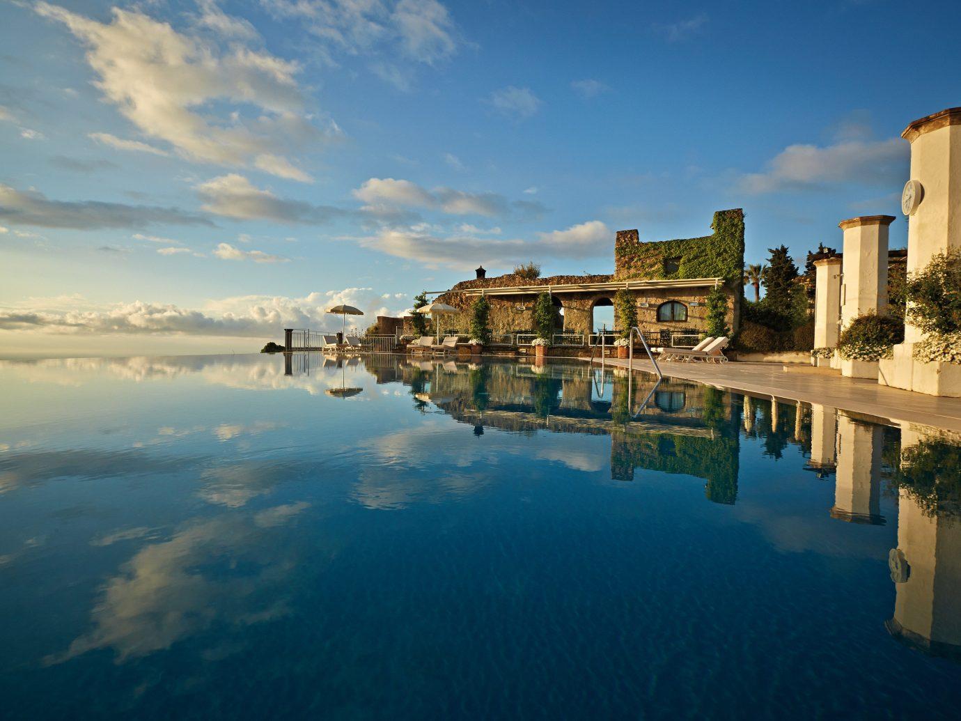infinity pool at Belmond Hotel Caruso, Ravello