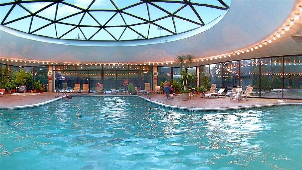 Casino Classic Lake Mountains Mountains + Skiing Pool Resort Ski Trip Ideas Wellness water table ceiling swimming pool leisure property estate resort town blue swimming
