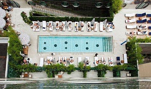 Hotels Resort plaza tourism estate swimming pool palace mansion plant