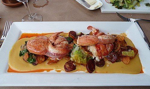 Trip Ideas table food dish plate meal meat cuisine lunch restaurant breakfast roasting produce piece de resistance