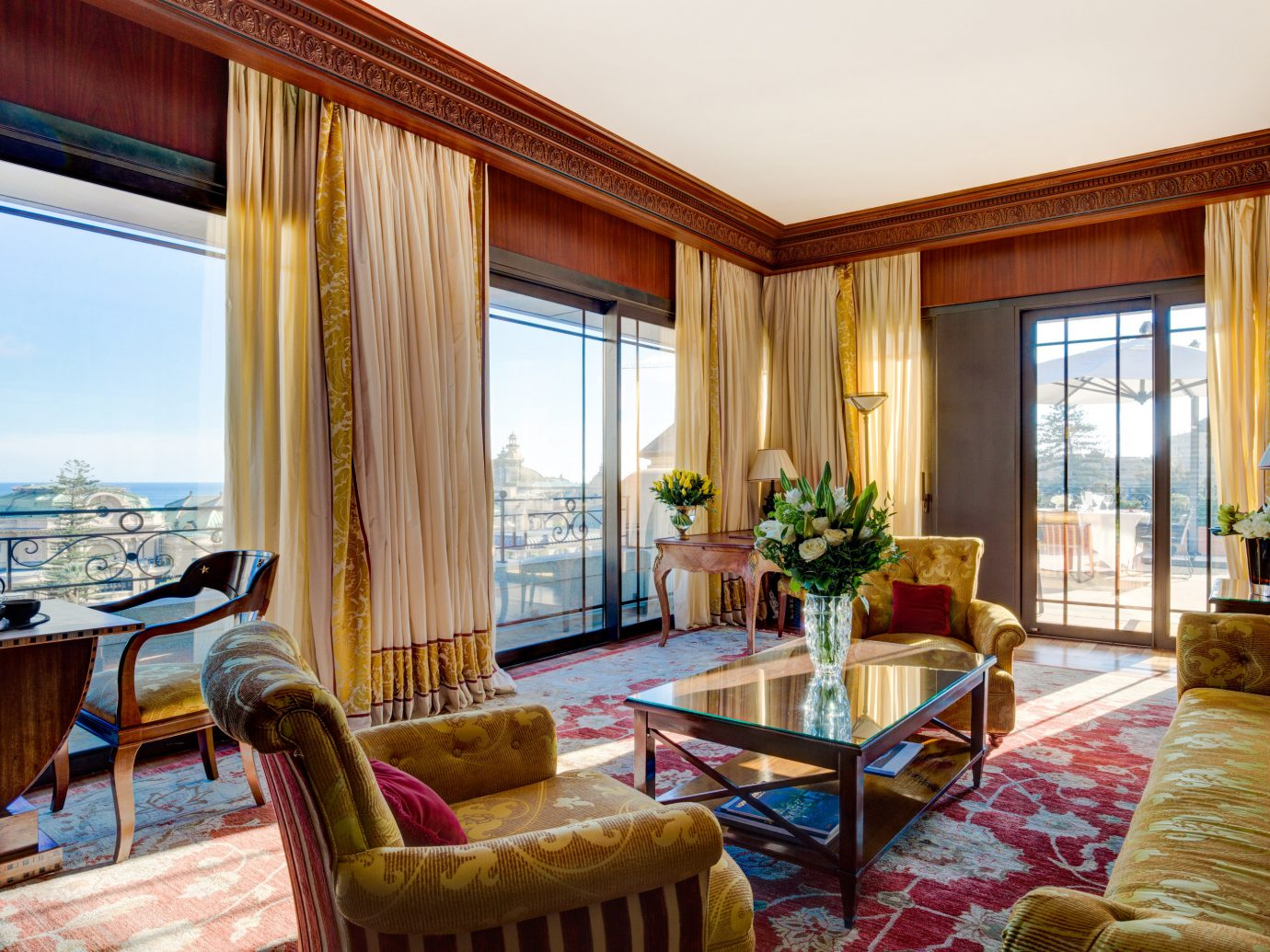 Hotels Romance indoor window room floor Living interior design Suite real estate estate living room furniture Bedroom