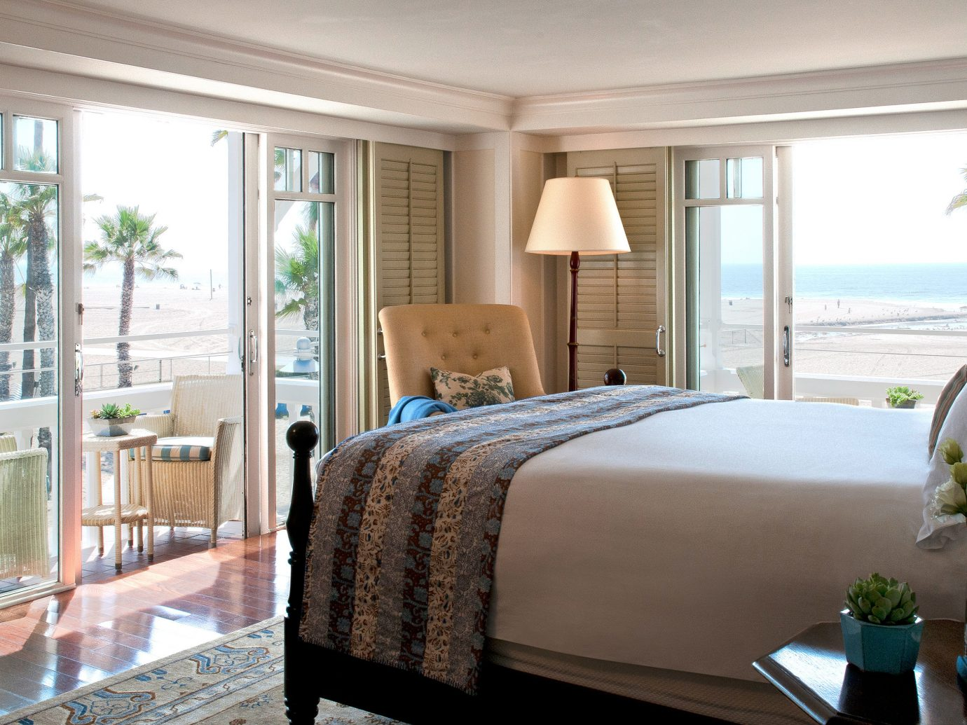 Bedroom at Shutters on the Beach, CA