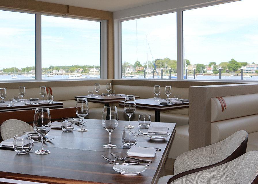 Hotels window indoor table dining room room property restaurant interior design home estate living room yacht condominium furniture Design window covering overlooking