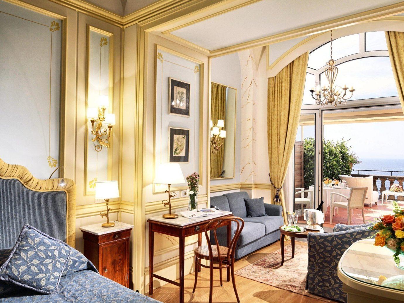 Hotels indoor window room floor property estate Suite living room home interior design mansion dining room Villa real estate Resort cottage ceiling furniture decorated