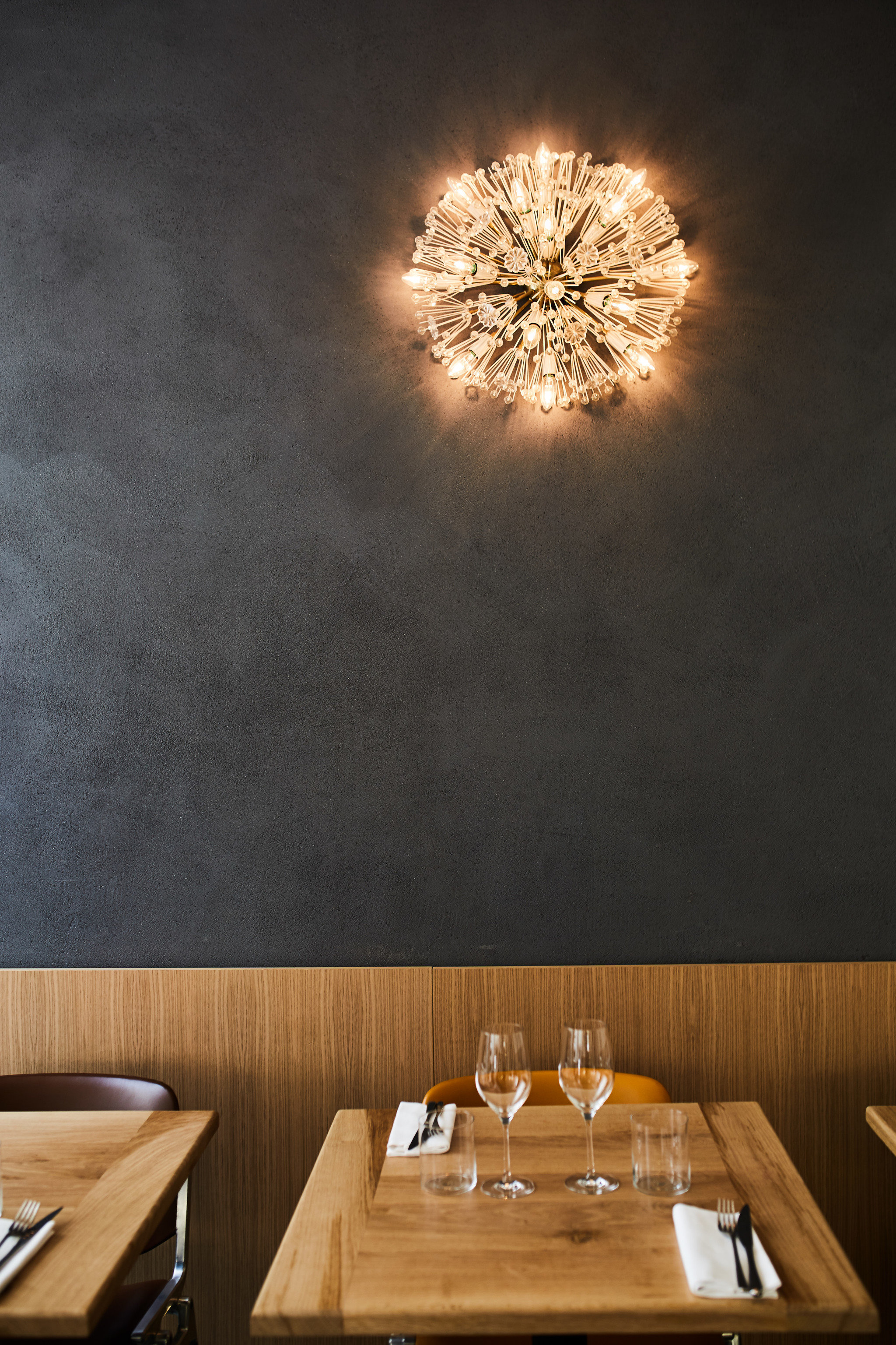 Food + Drink table indoor lighting light fixture