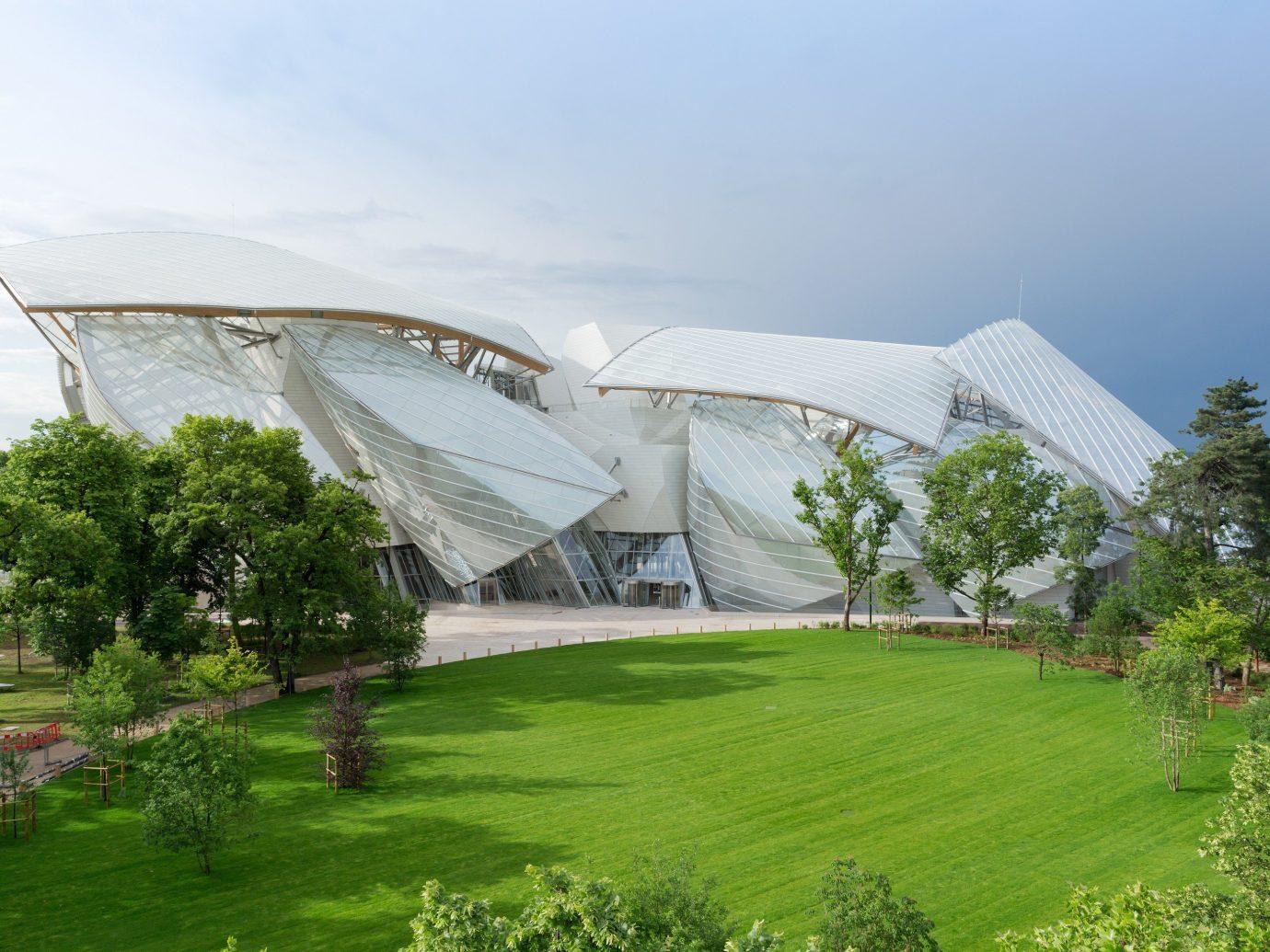 Fondation Louis Vuitton art center in Paris