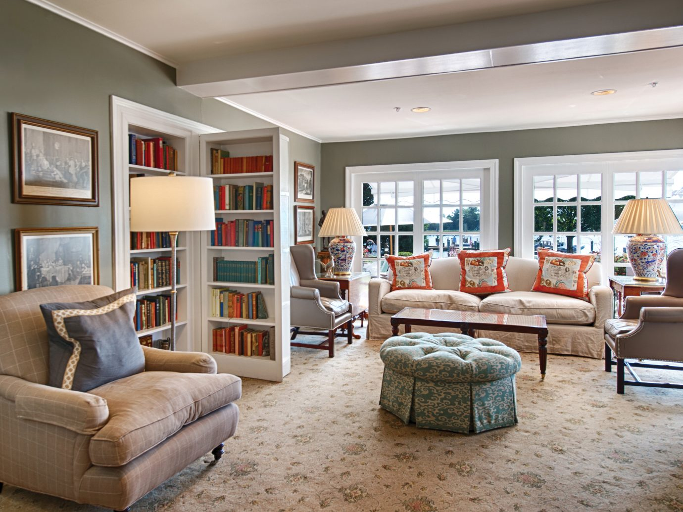 Living room at Inn at Perry Cabin by Belmond, Maryland