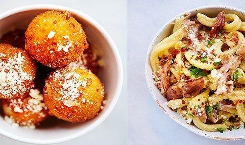 Food + Drink food plate dish cuisine produce fried food vegetarian food vegetable meal breakfast containing meat