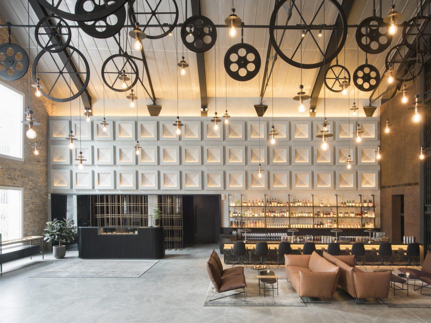 Hotels building property Lobby interior design estate Design dining room