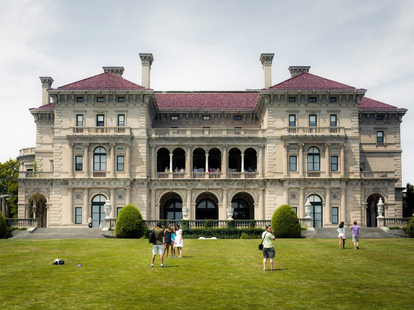 Trip Ideas grass sky building outdoor field stately home house château green estate landmark palace lawn Architecture manor house mansion facade monastery grassy castle old government building stone