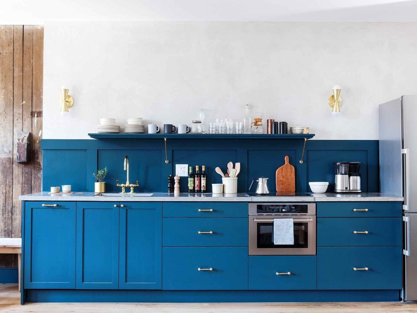Boutique Hotels Hotels Philadelphia Kitchen furniture shelf chest of drawers countertop interior design product cabinetry sideboard shelving cuisine classique