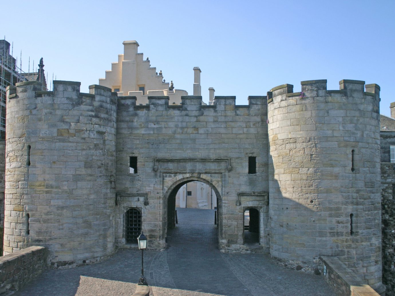 Landmarks Offbeat building outdoor sky stone fortification historic site wall medieval architecture castle history old château turret facade concrete cement