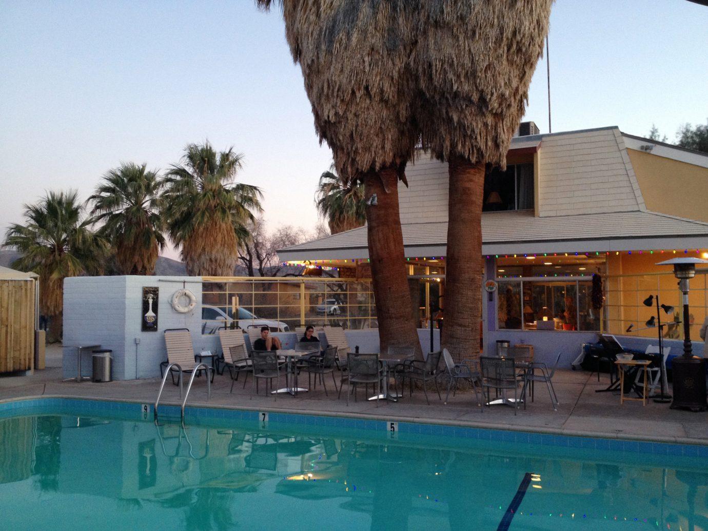 City Influencers + Tastemakers Joshua Tree Travel Tips sky outdoor leisure property swimming pool Resort vacation estate home Villa