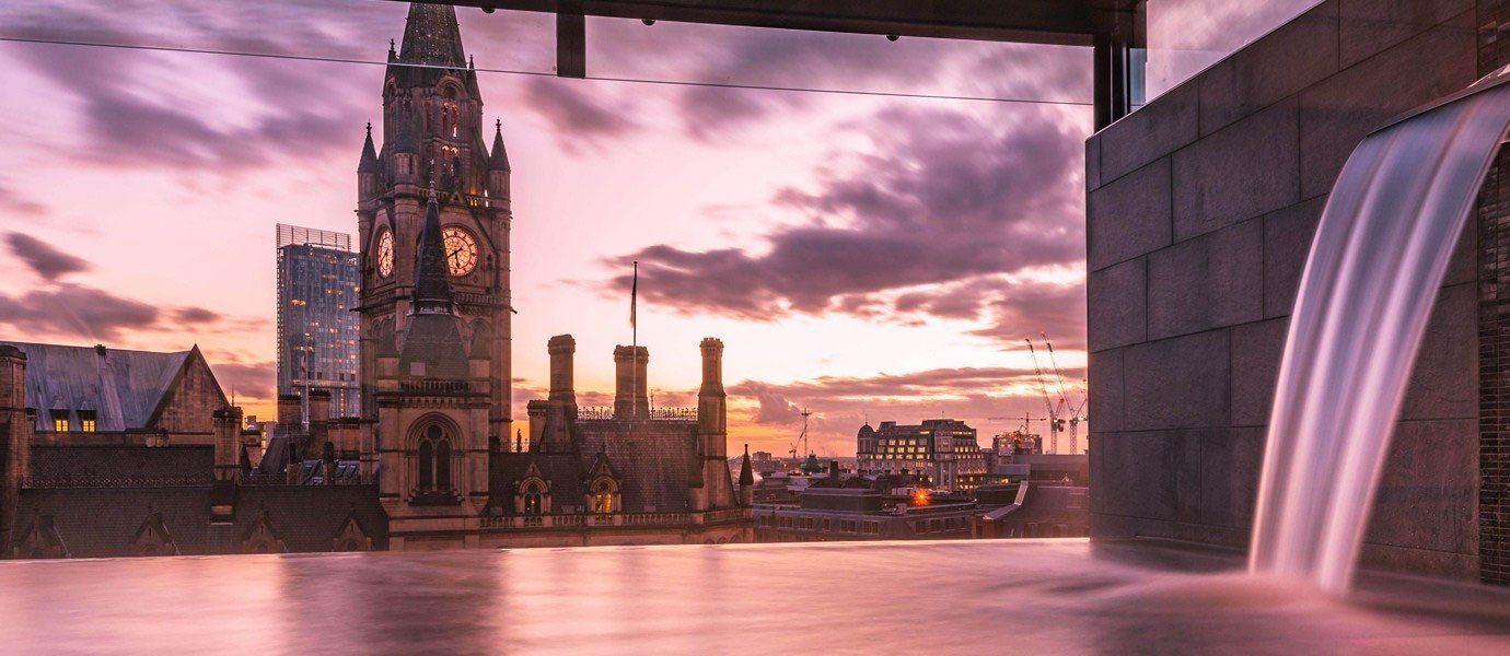 Offbeat building outdoor sky Architecture City evening facade screenshot tourist attraction interior design