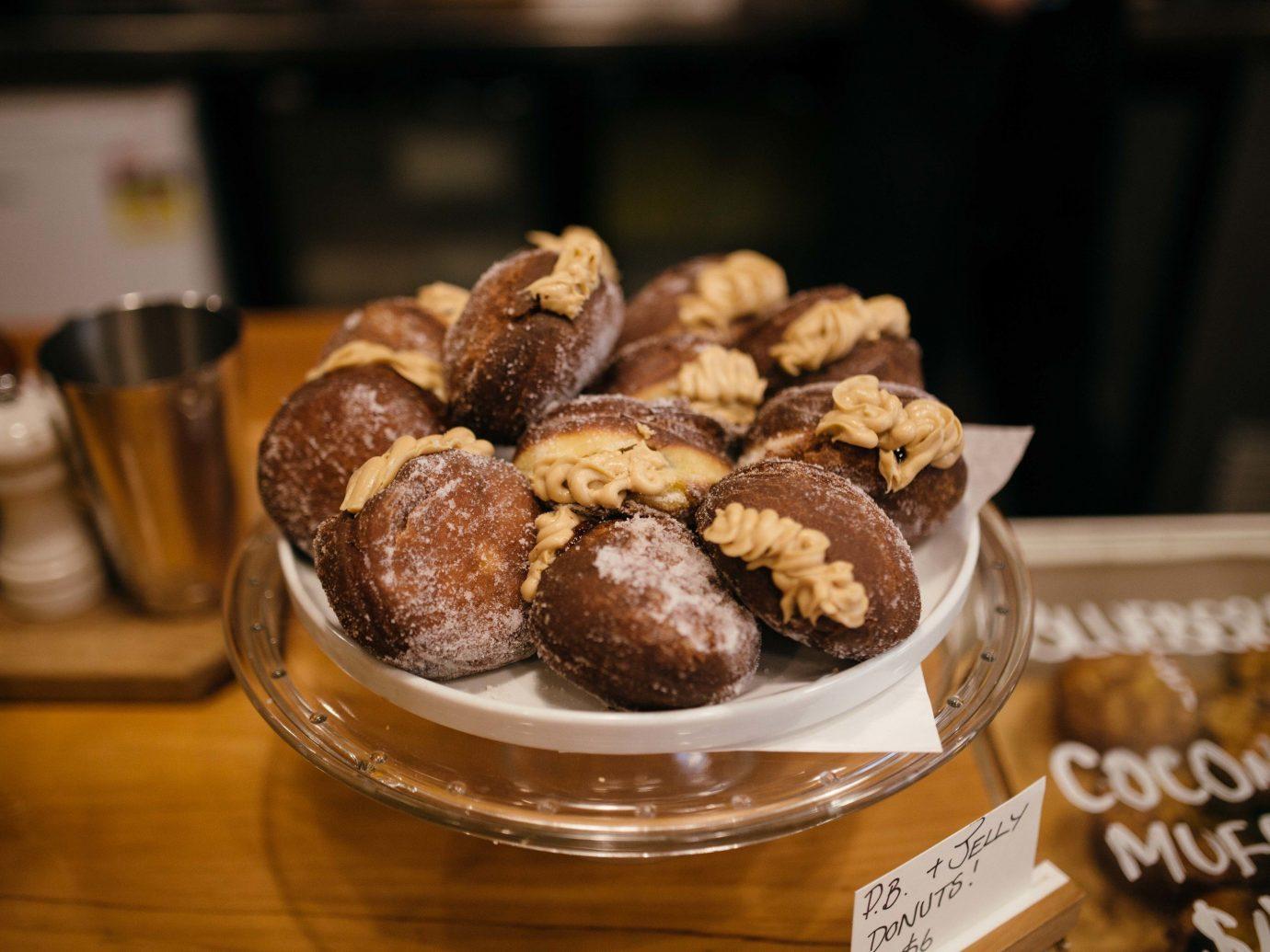 Food + Drink Offbeat Travel Trends table indoor food plate dessert snack finger food brunch flavor bakery baking