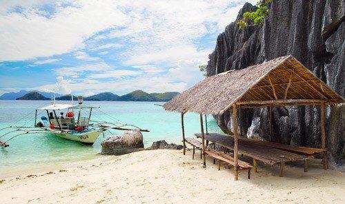 Trip Ideas outdoor Beach hut vacation tourism bay Sea Resort shore sandy