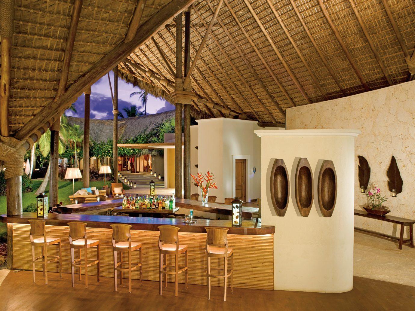 All-inclusive Bar Drink Hotels Luxury Nightlife Resort indoor floor property room estate interior design home wood Villa Design living room furniture area
