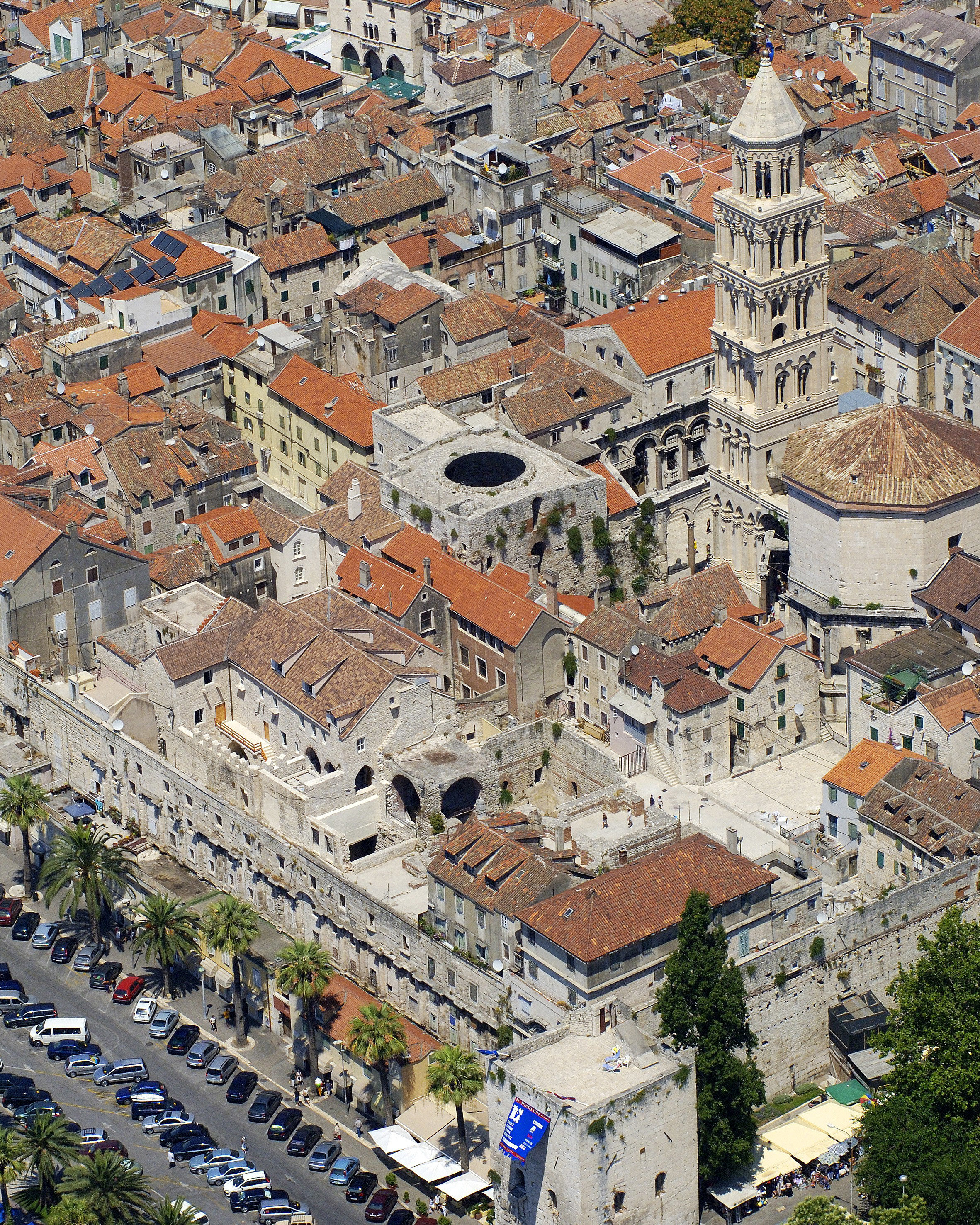Trip Ideas aerial photography bird's eye view Town residential area neighbourhood City suburb human settlement cityscape Downtown ancient history canyon town square