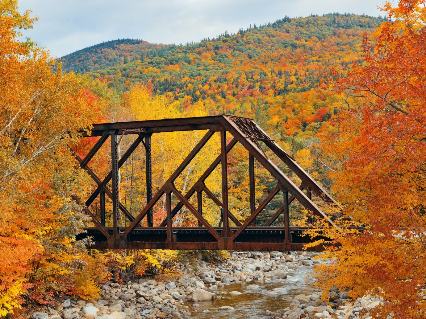 Trip Ideas tree outdoor building River bridge water habitat Nature autumn wilderness season Lake natural environment leaf Forest morning woodland landscape wooded rural area mountain nonbuilding structure wood traveling hillside surrounded