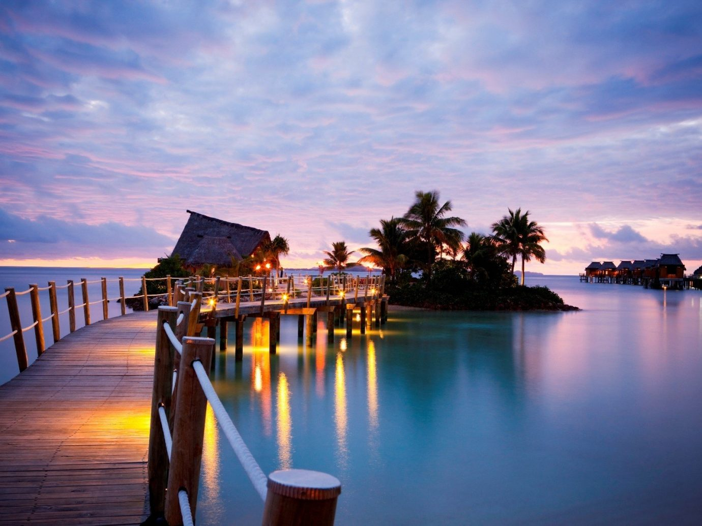 All-Inclusive Resorts Boutique Hotels Hotels Romance water sky outdoor scene Boat body of water Sea reflection horizon evening dusk pier morning Sunset cloud lighting calm sunrise Ocean tourist attraction dawn River tourism vacation tropics leisure landscape computer wallpaper Resort distance several