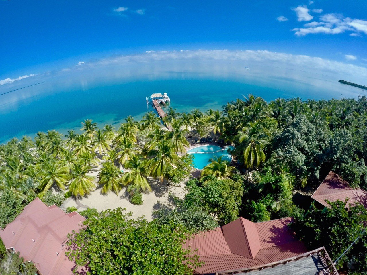 Aerial View Of Belize