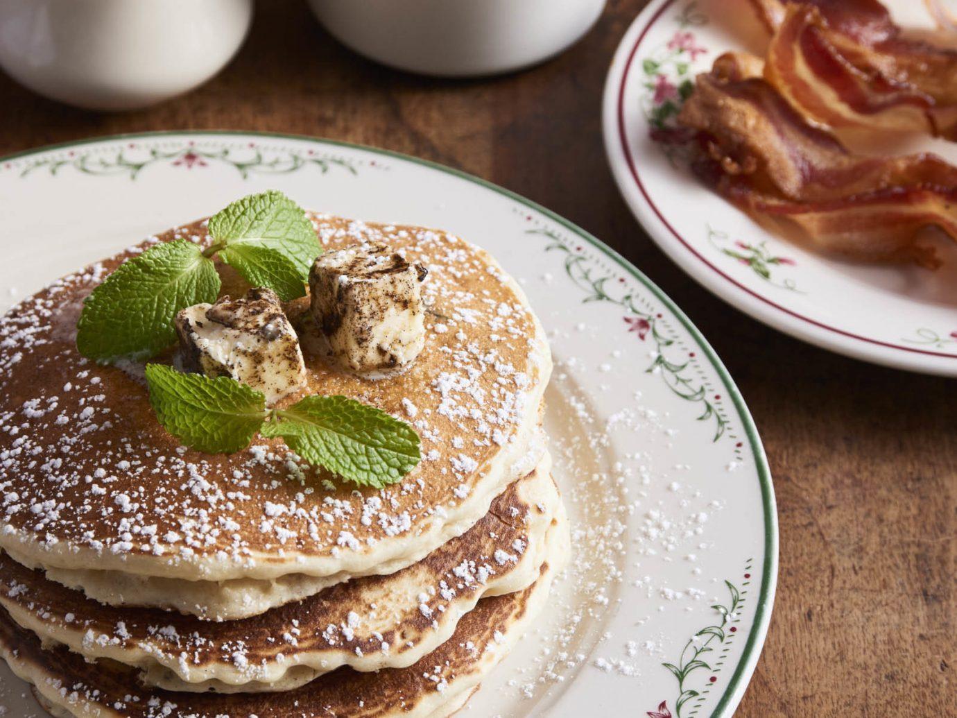 Food + Drink cup plate table coffee dish food meal breakfast pancake produce dessert cuisine flavor