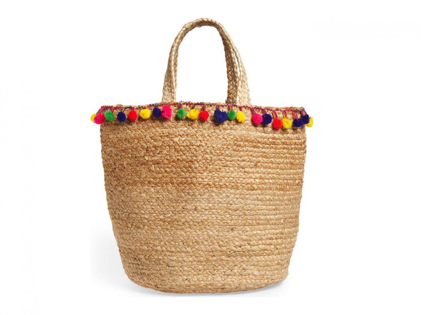 Style + Design straw handbag basket bag accessory colored