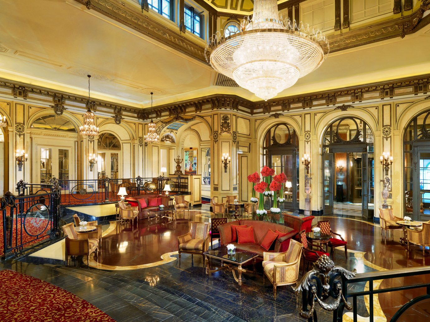 Boutique Hotels City Italy Lobby Luxury Luxury Travel Romantic Romantic Hotels Rome indoor ceiling building palace estate interior design restaurant synagogue furniture several dining room
