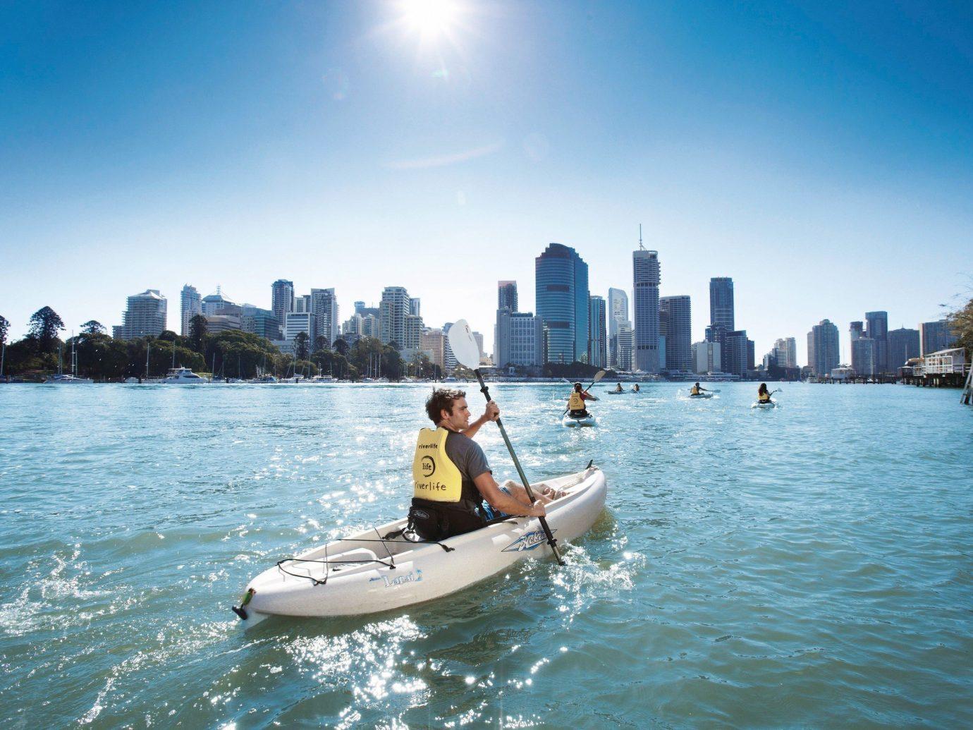 Trip Ideas water outdoor sky Boat vehicle boating watercraft kayak Sea Lake paddle sports equipment bay