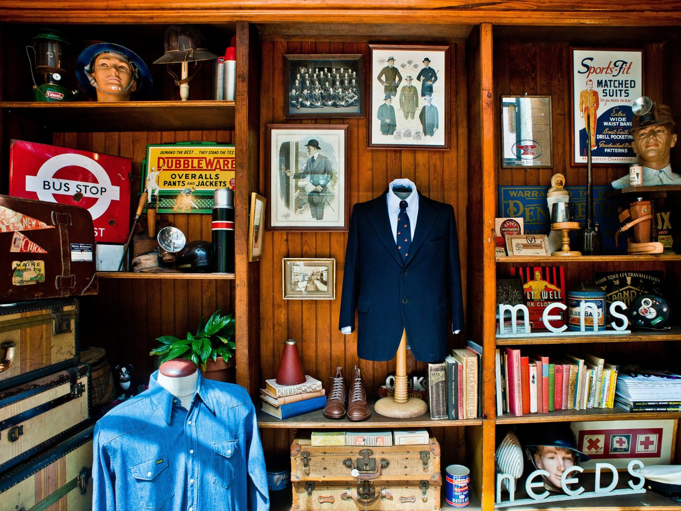 Travel Shop indoor shelf bookcase interior design