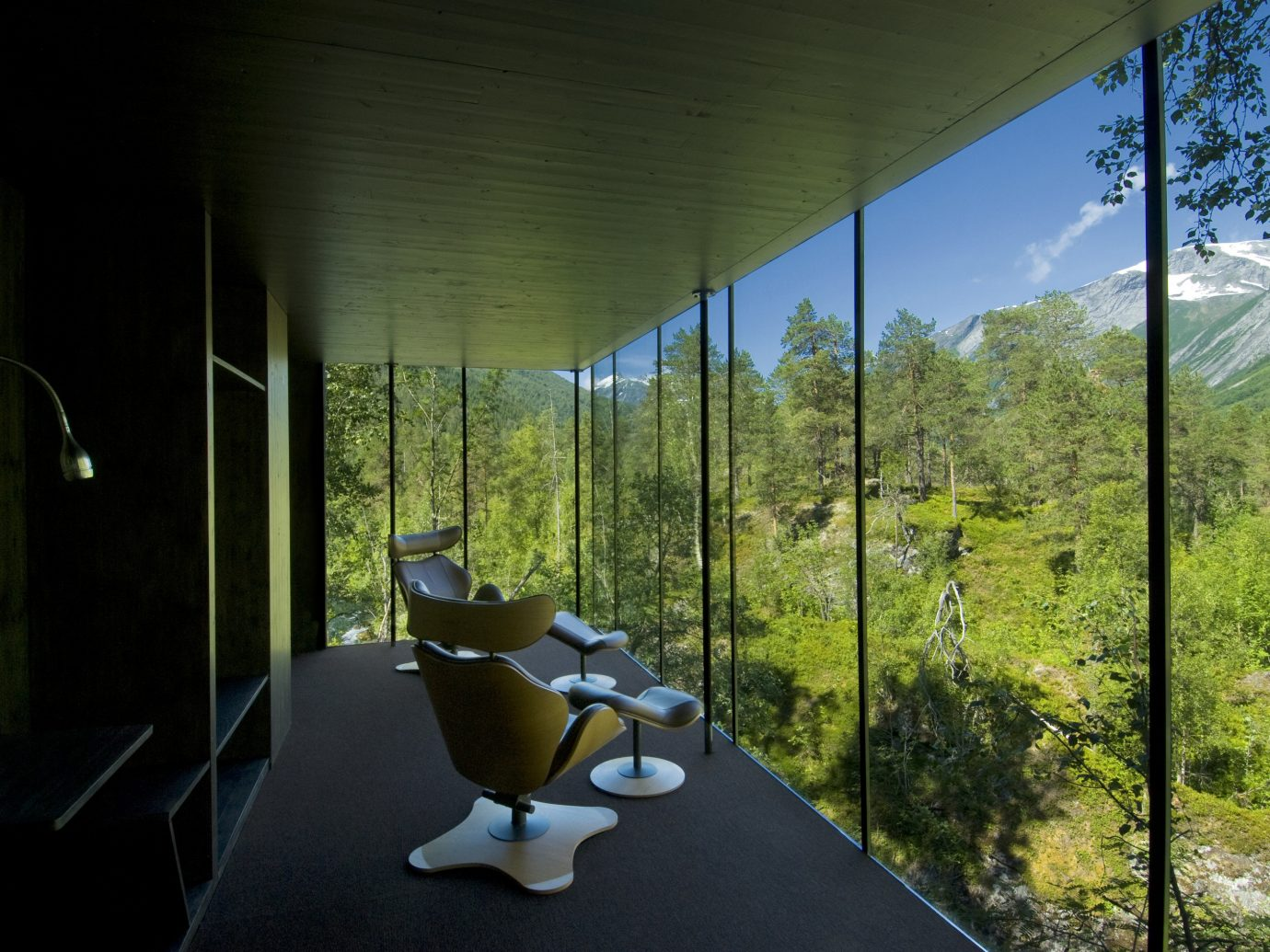 Design Hotels tree green indoor house Architecture plant interior design home grass window area furniture