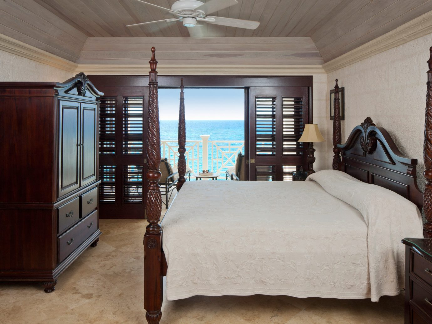All-Inclusive Resorts Beachfront Bedroom Classic Hotels Living Resort Scenic views Suite indoor bed wall ceiling floor room property home house furniture estate hardwood cottage interior design hotel real estate wood living room farmhouse
