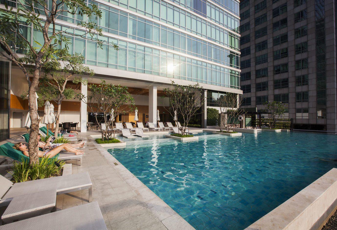 Trip Ideas building outdoor swimming pool condominium property leisure Resort Pool estate backyard mansion Villa Courtyard apartment