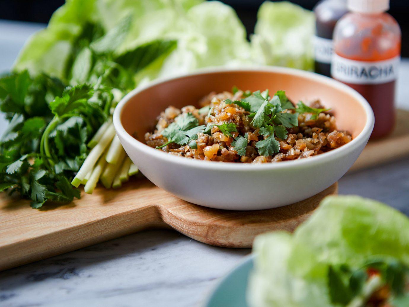 Food + Drink food table dish plate vegetarian food cuisine leaf vegetable salad vegetable asian food condiment recipe thai food dip meal