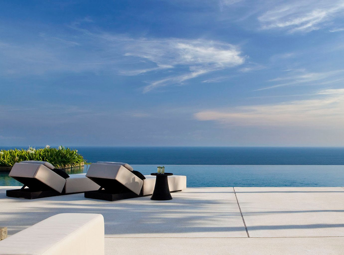 Eco Hotels Luxury Modern Pool Scenic views Waterfront sky outdoor horizon Sea Ocean vacation swimming pool Coast Beach bay condominium shore day