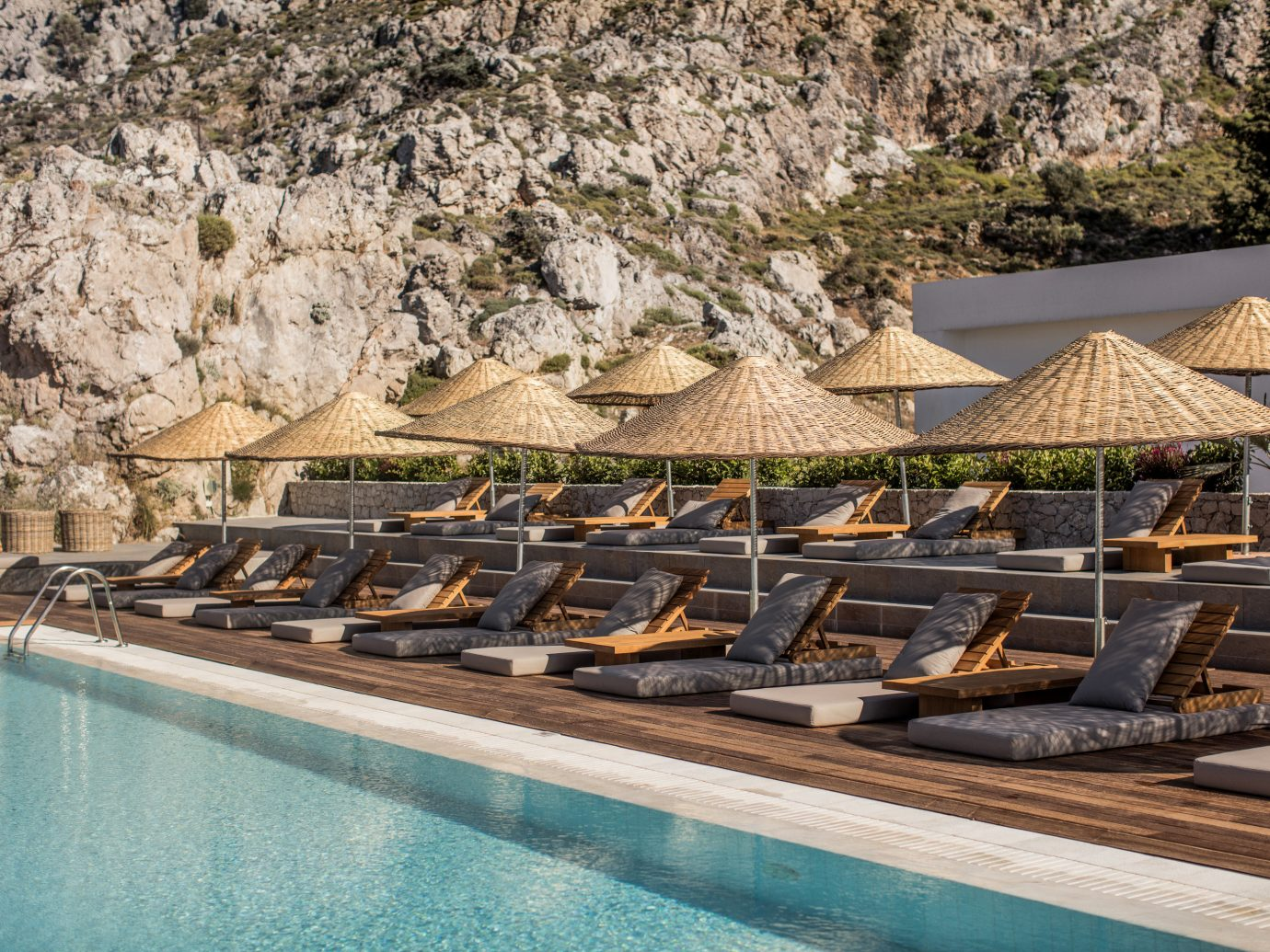 Hotels outdoor swimming pool Resort Nature Pool Boat
