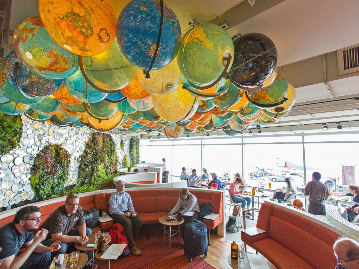 Food + Drink indoor meal Resort restaurant amusement park
