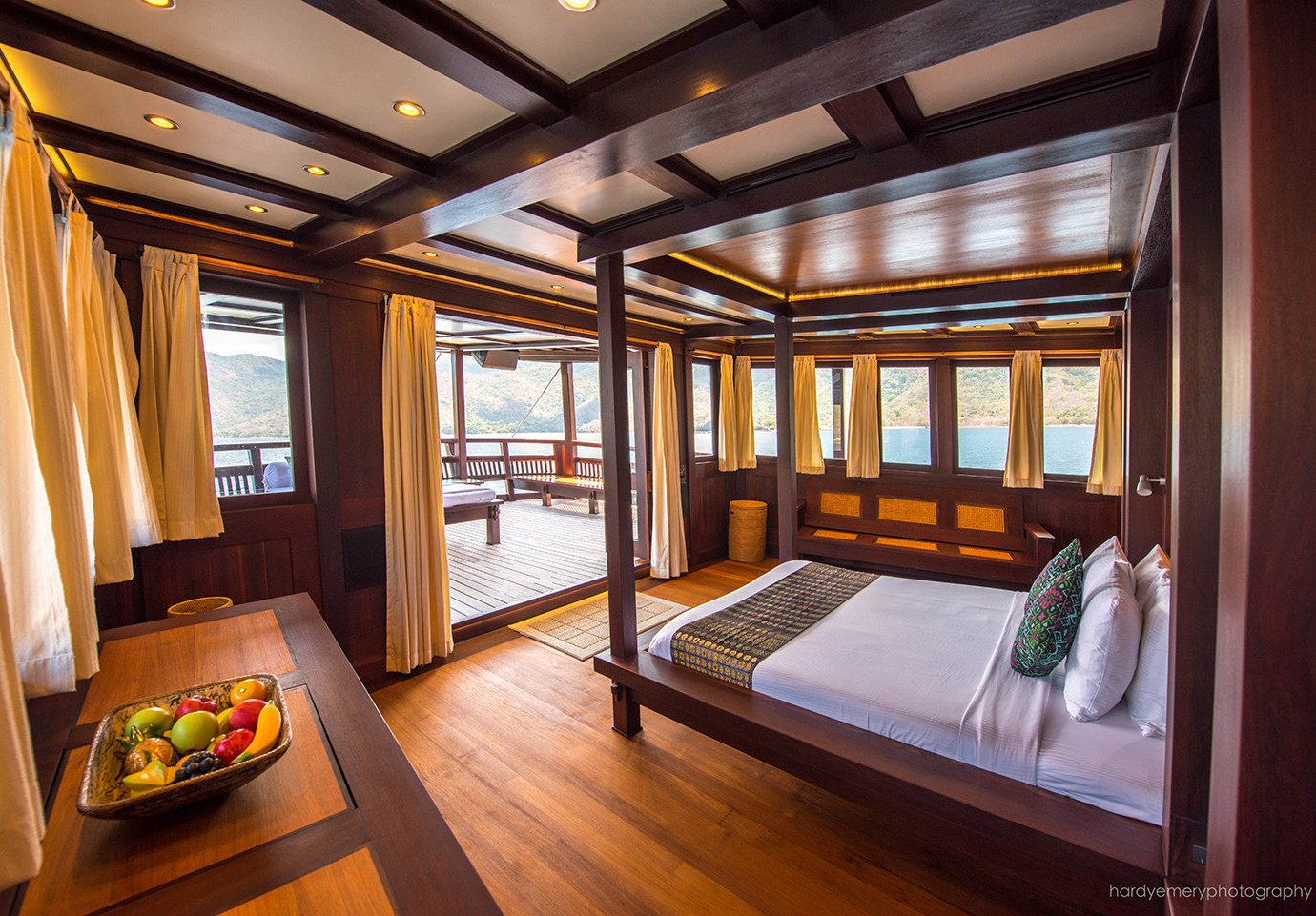 Luxury Travel Trip Ideas indoor floor room interior design window real estate wood wooden house Suite estate ceiling furniture overlooking