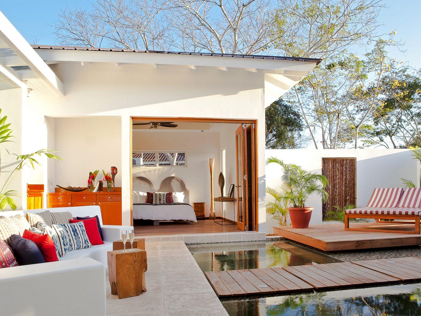 Private Patio And Pool At Ka'Ana Resort In San Ignacio, Belize