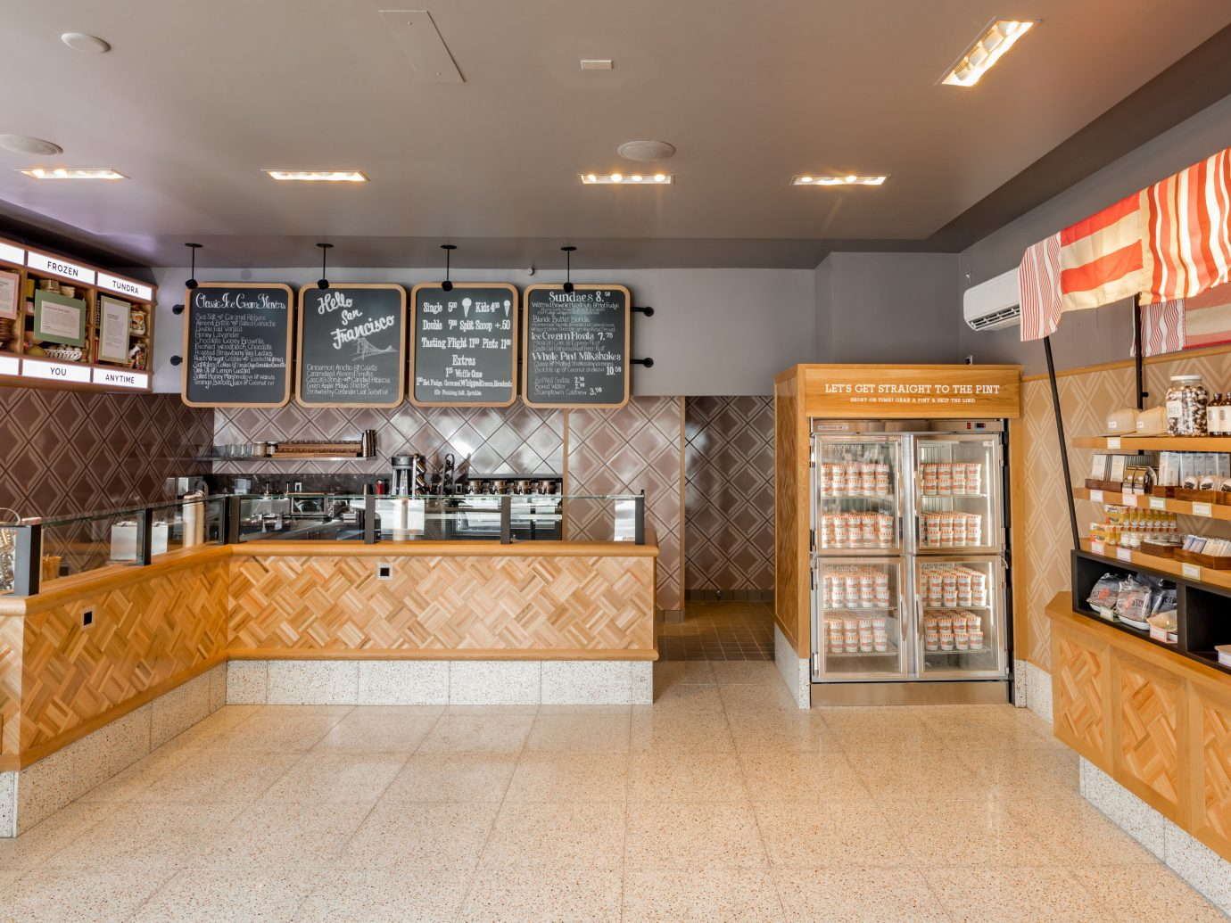 Trip Ideas indoor floor ceiling bakery interior design real estate retail counter flooring Kitchen furniture