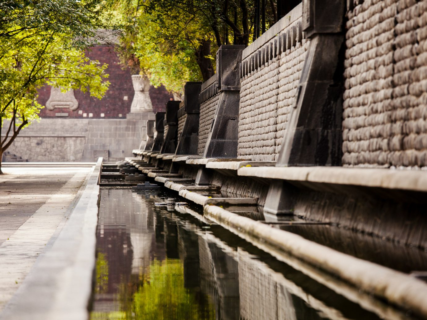 Arts + Culture Mexico City Travel Tips Trip Ideas water reflection outdoor waterway wall Town tree Canal road alley street plant sidewalk wood way City lane building facade lined stone