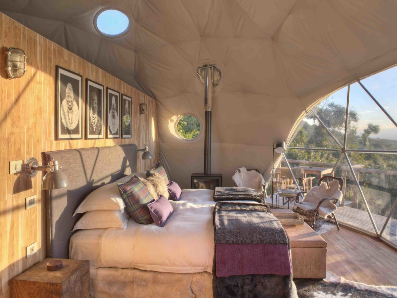 Outdoors + Adventure Travel Tips ceiling interior design home real estate house estate living room tent furniture stone