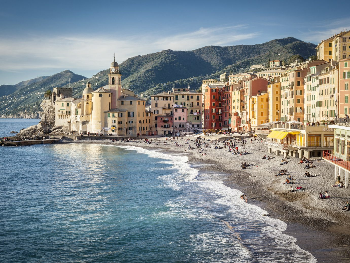 Italy Trip Ideas Sea sky City Coast Town water tourism tourist attraction terrain coastal and oceanic landforms promontory building Ocean cityscape vacation bay
