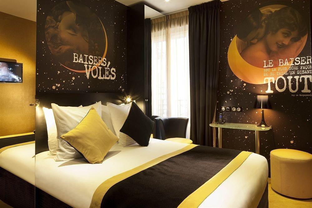 Trip Ideas indoor yellow room hotel Suite interior design
