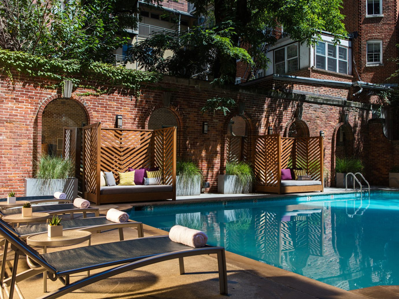 Hotels swimming pool outdoor property chair estate backyard Courtyard home Villa mansion outdoor structure yard