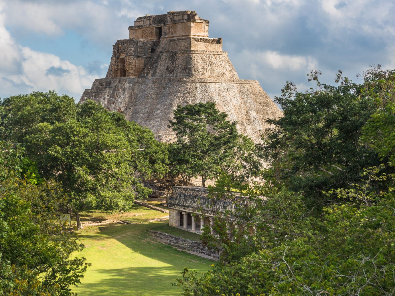 Mexico Trip Ideas Weekend Getaways tree outdoor grass mountain hill rock Ruins landscape castle rural area valley château park surrounded bushes lush